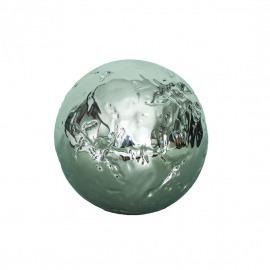 Bilă ceramică argintie D-12 cm