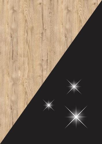 stejar sherwood +negru lucios